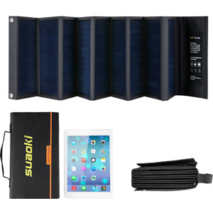Suaoki 60W Portable Sunpower Folding Solar Panel