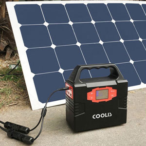 Coolis 150Wh Portable Solar Power Inverter Generator