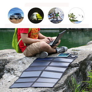 ALLPOWERS 80W Foldable Solar Panel SunPower Solar Charger