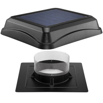 Top Rated Solar Attic Fans